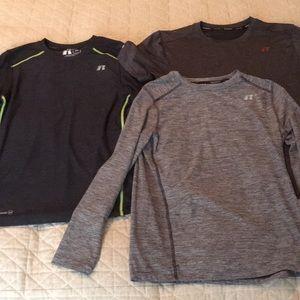 Youth Boys Large 10/12 athletic shirt bundle NEW